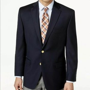 Ralph Lauren Blazer Blue Gold Button Jacket